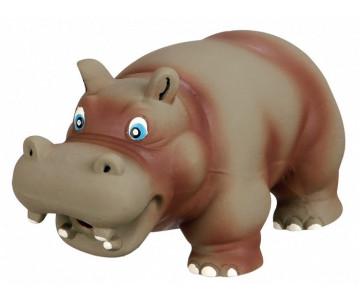 Trixie Hippo Бегемот латексная игрушка для собак с оригинальным звуком
