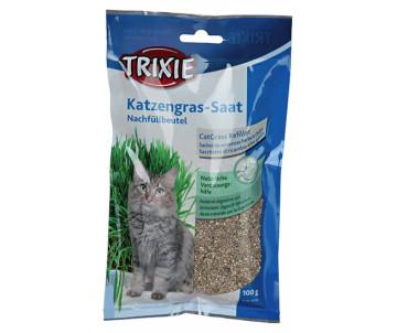 Trixie Katzengras Nachfüllbeutel Трава для котов