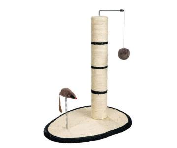 Trixie Когтеточка-столбик с мышкой на веревочке для кошек