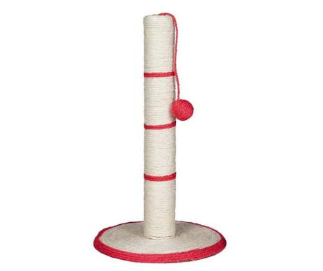 Trixie Когтеточка-столбик с игрушкой на веревочке для кошек