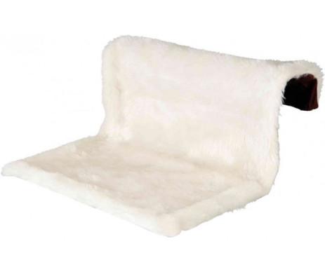 Trixie Radiator Bed, long-haired Plush Гамак-лежак для кота на радиатор
