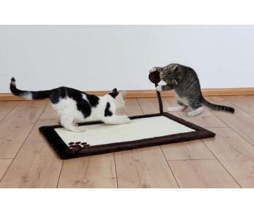 Trixie Когтеточка-коврик с мячиком на пружине для кошек