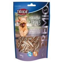 Trixie PREMIO Fish Rabbit Stripes Лакомство для собак с кроликом и рыбой