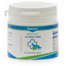 Canina PETVITAL Mineral-Tabs Препарат для собак, разные соединения кальция+D3