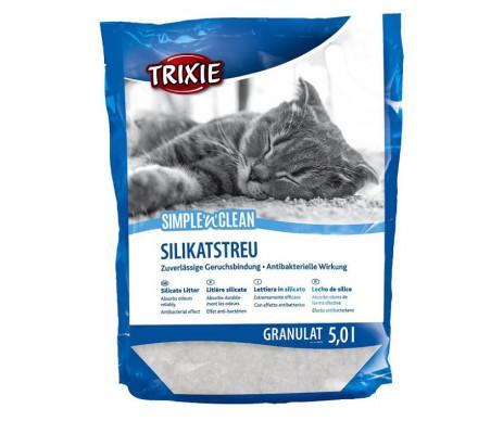 Trixie Simple Clean силикагелевый наполнитель для кошачьего туалета