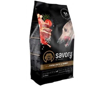 Savory Adult All Breeds Fresh Duck & Rabbit