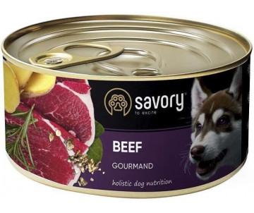 Savory Dog Gourmand Вeef Wet