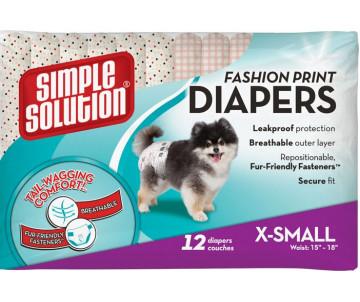 Simple Solution Fashion Disposable Diapers Гигиенические подгузники для животных