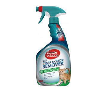 Simple Solution Cat stain and odor remover Дезодорирующее средство для чистки и устранения запахов