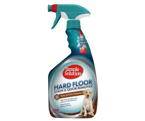 Simple Solution Hardfloors stain and odor remover Дезодорирующее средство для чистки и устранения запахов