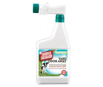 Simple Solution Yard odor away Hose Дезодорирующее средство от запахов мочи и кала на садовых участках