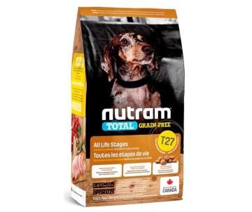 NUTRAM Dog Puppy Adult Total GF MINI Turkey Chiken Duck