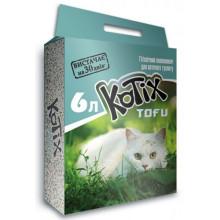 Kotix Tofu Соевый наполнитель для кошачьего туалета, без аромата