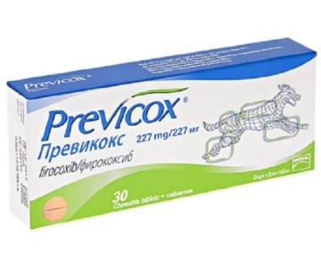 Previcox (Превикокс) нестероидный противовоспалительный препарат для собак, L ( 227 мг )