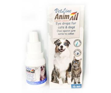 AnimAll Eye drops Глазные капли для котов и собак
