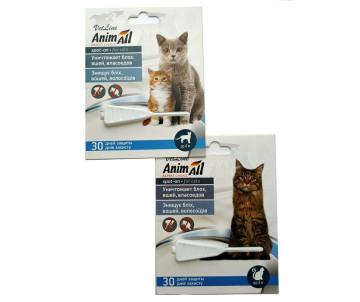 AnimAll VetLine спот-он от блох для котов