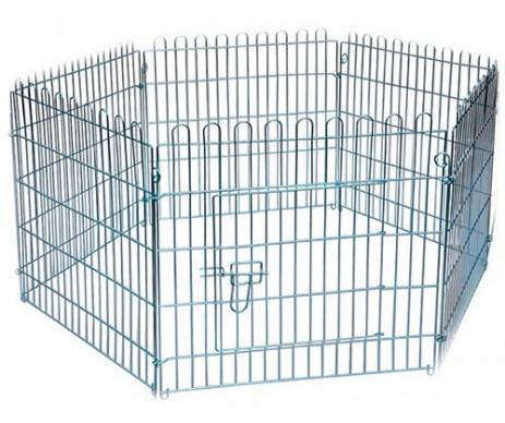 AnimAll Металлическая клетка-манеж для собак