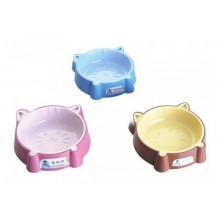 AnimAll Кошка пластиковая миска для кошек