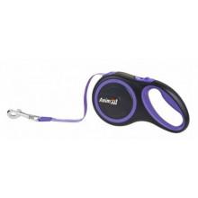 AnimAll рулетка-поводок для собак синий