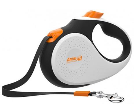 AnimAll Deluxe Gray рулетка-поводок для собак