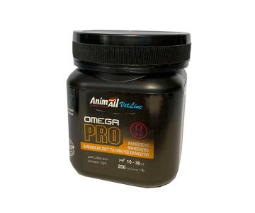 AnimAll VetLine Omega PRO Витаминная добавка для средних пород собак 1 г х 200 т.