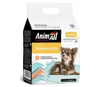 AnimAll Пеленки с ароматом ромашки для щенков и взрослых собак