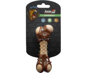 AnimAll GrizZzly Игрушка косточка с ароматом мяса