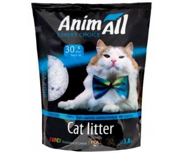 """AnimAll """"Голубая долина"""" силикагель наполнитель для кошачьего туалета"""