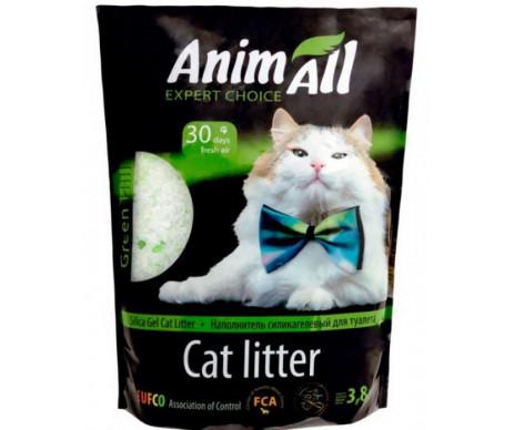 AnimAll Зеленый холм силикагель наполнитель для кошачьего туалета