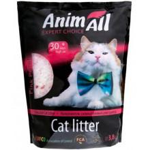 """AnimAll """"Розовый лепесток"""" силикагель наполнитель для кошачьего туалета"""