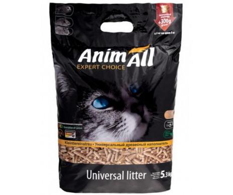 AnimAll древесный наполнитель для кошачьего туалета