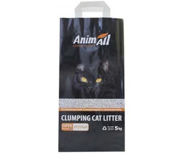 AnimAll Натурал Бентонитовый наполнитель для кошачьего туалета крупная фракция