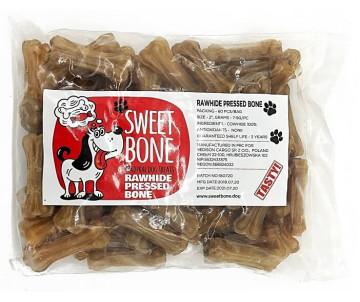Sweet Bone Rawhide Pressed Bone XS