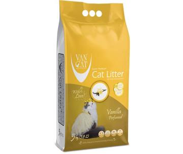 VanCat аромат Ваниль бентонитовый наполнитель для кошачьего туалета
