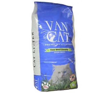 VanCat Крупный (0,6-4мм) бентонитовый наполнитель для кошачьего туалета