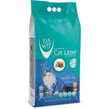 VanCat аромат Марсельское мыло бентонитовый наполнитель для кошачьего туалета