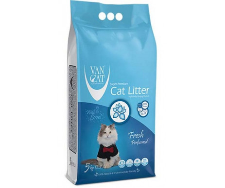VanCat аромат Фреш бентонитовый наполнитель для кошачьего туалета