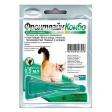 Frontline Combo Spot On капли от блох и клещей для кошек