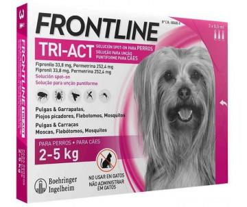 Frontline TRI-AKT от блох и клещей для собак, 1 пипетка