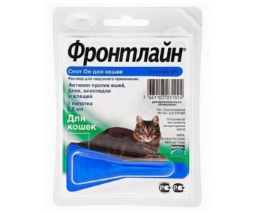 Frontline Spot On Cat капли от блох и клещей