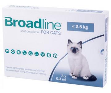 Broadline Spot On капли от блох и клещей для котов