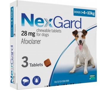 NexGard от блох и клещей для собак, 1 таб