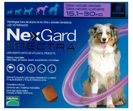 NexGard Spectra против паразитов для собак