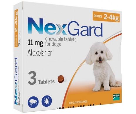 NexGard от блох и клещей для собак