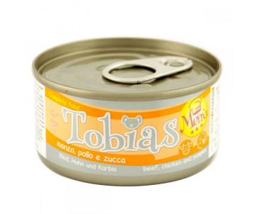 Tobias Dog Menu beef