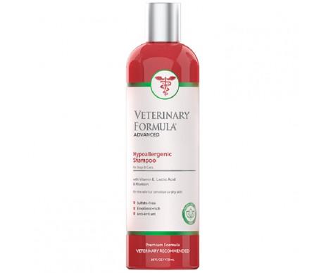 Veterinary Formula Clinical Care Hypoallergenic Shampoo гипоаллергенный шампунь для собак и кошек, с витамином Е, молочной кислотой и аллантоином