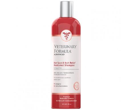 Veterinary Formula Hot Spot&Itch Relief Medicated Shampoo антиаллергенный шампунь для собак и кошек