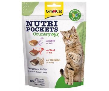 GimCat Nutri Pockets Кантри микс