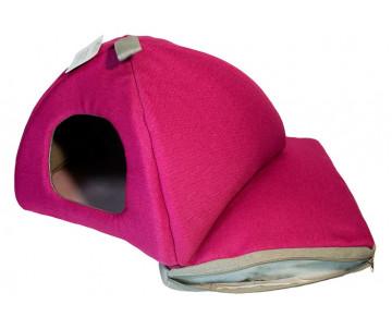 Lucky Pet Мия Юрта для кошек и собак, розовая