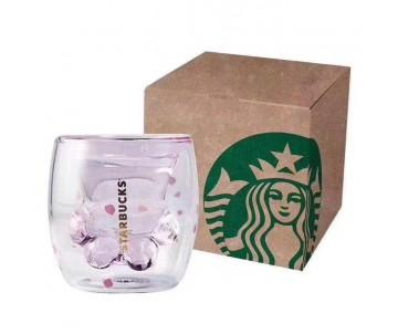 Starbucks Cat Paw Cup Стеклянная чашка Кошачья лапа